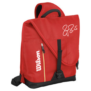 WILSON FEDERER TEAM TWEENER TENNIS BAG RED