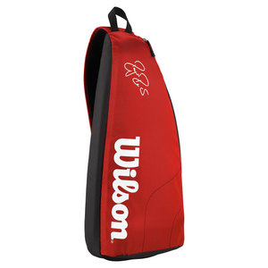 WILSON FEDERER TEAM TENNIS SLING BAG RED