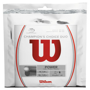 WILSON CHAMPIONS CHOICE DUO TENNIS STRING