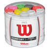 WILSON Pro Overgrip Bucket 60 Pack Assorted