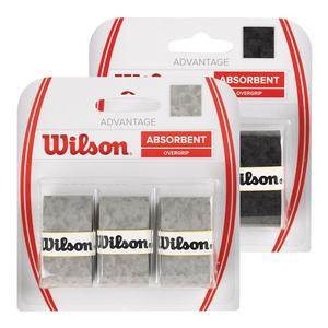 WILSON ADVANTAGE TENNIS OVERGRIP 3 PACK