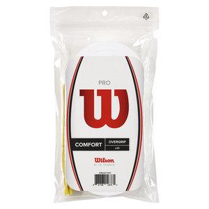 WILSON PRO OVERGRIP 30 PACK WHITE