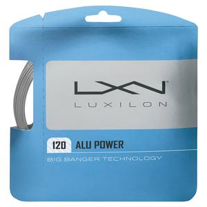 ALU Power Feel 120 Tennis String Silver