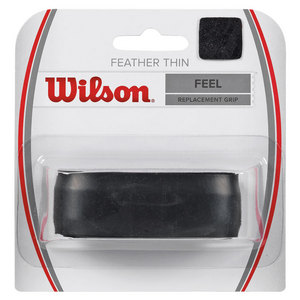 WILSON FEATHERTHIN REPLACEMENT TENNIS GRIP BLK