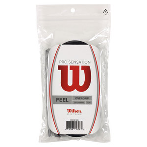 WILSON PRO OVERGRIP SENSATION 30 PACK BLACK