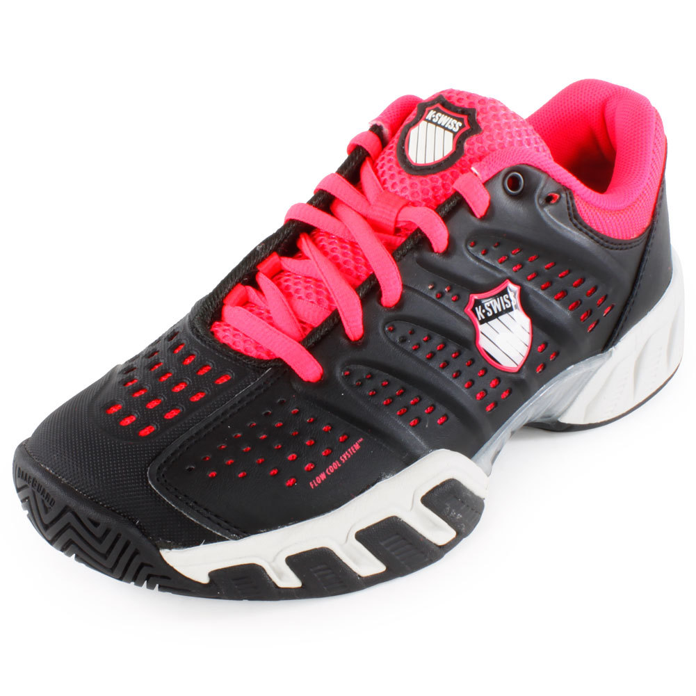 Tennis Express | K-SWISS Women`s Bigshot Light Tennis Shoes Black ...