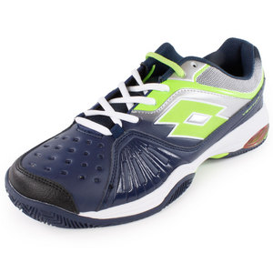 LOTTO MENS VECTOR VI TNS SHOES AVIATOR/WHITE