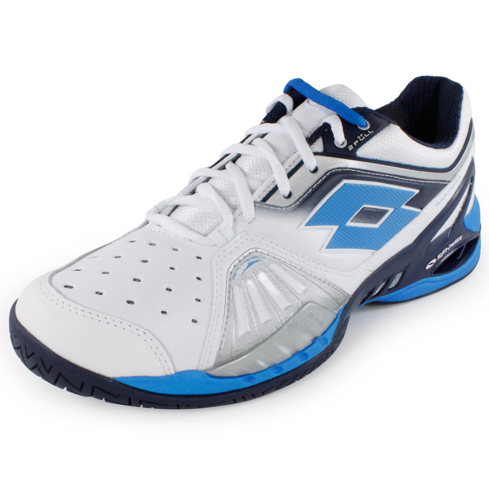 Men's Raptor Ultra Iv Speed Tennis Shoes White And Aviator