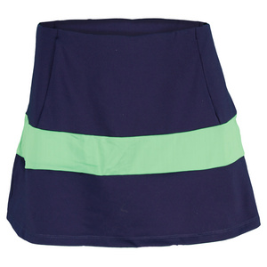 VICKIE BROWN WOMENS MICHELLE TENNIS SKORT NAVY/LIME