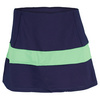 VICKIE BROWN Women`s Michelle Tennis Skort Navy and Lime