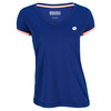 LOTTO Women`s Shela Cap Sleeve Tennis Top China Blue
