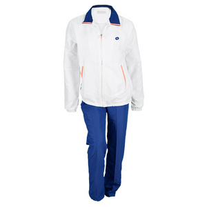LOTTO WOMENS SHELA TENNIS SUIT WHITE/CH BLUE
