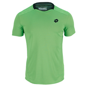LOTTO MENS 1000 TENNIS TEE FLUO CLOVER
