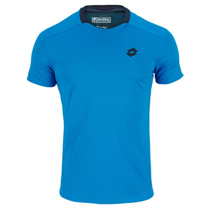 LOTTO MENS 1000 TENNIS TEE BLUE MOON