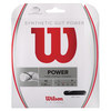 Synthetic Gut Power Tennis String BLACK