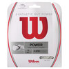 Synthetic Gut Power Tennis String WHITE