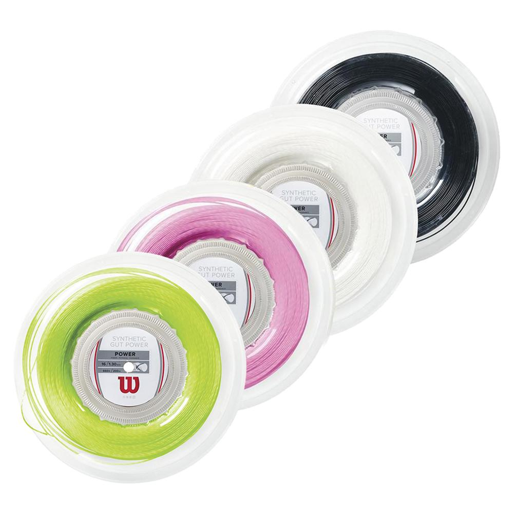 Synthetic Gut Power Tennis String Reel