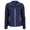 LIJA Women`s Bubble Hem Tennis Jacket Mariner