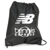 Tennis Express Non Woven Drawstring Backpack Black by NEW BALANCE