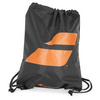 BABOLAT Drawstring Tennis Bag Black and Orange