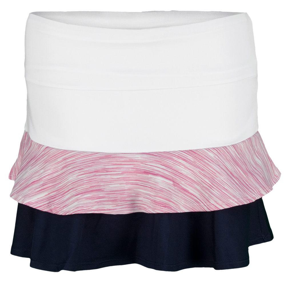 Girls ` Desert Springs Aubrey Tennis Skort Bouquet And White