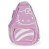Diva Tennis Backpack Pink by HELLO KITTY
