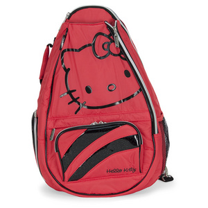 HELLO KITTY DIVA TENNIS BACKPACK RED