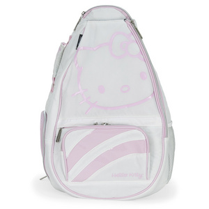 HELLO KITTY DIVA TENNIS BACKPACK WHITE