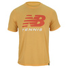 NEW BALANCE Men`s Big Brand Tennis Tee Golden Blaze
