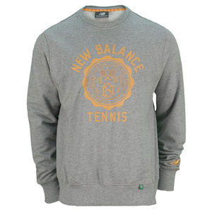 NEW BALANCE MENS BOOKSTORE TENNIS CREW GOLDEN BLAZE