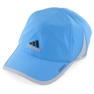 adidas ADIZERO II TENNIS CAP SOLAR BLUE/MID GY