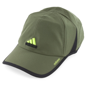 adidas ADIZERO II TENNIS CAP EARTH GREEN/BLACK
