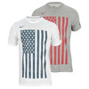 NIKE Men`s USA Graphic Dri-Fit Cotton Tee