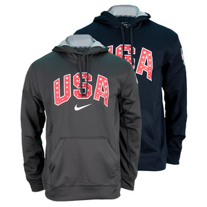 NIKE MENS USA GRAPHIC KO HOODY
