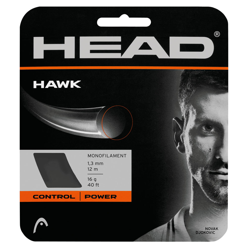 Hawk 16g Tennis String Platinum