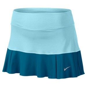 NIKE WOMENS FLIRTY KNIT TENNIS SKIRT