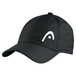 HEAD PRO PLAYER TENNIS CAP BLACK