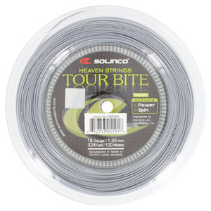 SOLINCO TOUR BITE TENNIS STRING MINI REEL SILVER