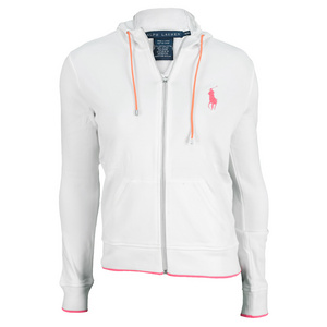 POLO RALPH LAUREN WOMENS FUNCTIONAL TNS JACKET PURE WHITE