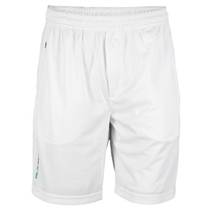 POLO RALPH LAUREN MENS BURN OUT TENNIS SHORT PURE WHITE