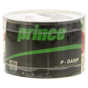 P Damp 50 Pack Jar Tennis Dampener Assorted