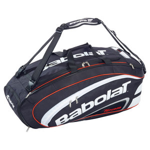 BABOLAT TEAM BK/RD COMPETITION TENNIS BAG