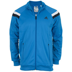 adidas MENS TS ANTHEM JACKET SOLAR BLUE