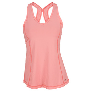 SOFIBELLA WOMENS ATHELETIC TENNIS TANK SORBET