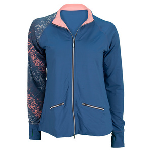 SOFIBELLA WOMENS TENNIS JACKET COBALT