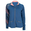 SOFIBELLA Women`s Tennis Jacket Cobalt
