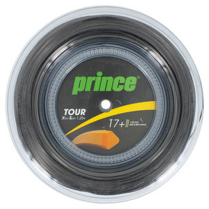 Tour XS 1.25+ Tennis String Reel Black