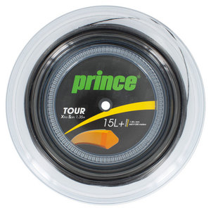 PRINCE TOUR XS 1.35+ TENNIS STRING REEL BLACK