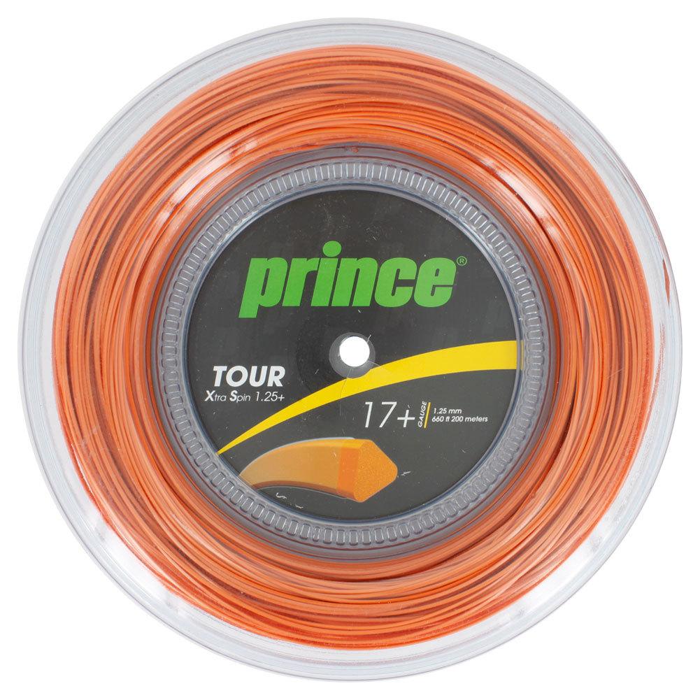Tour Xs 1.25 + Tennis String Reel Orange