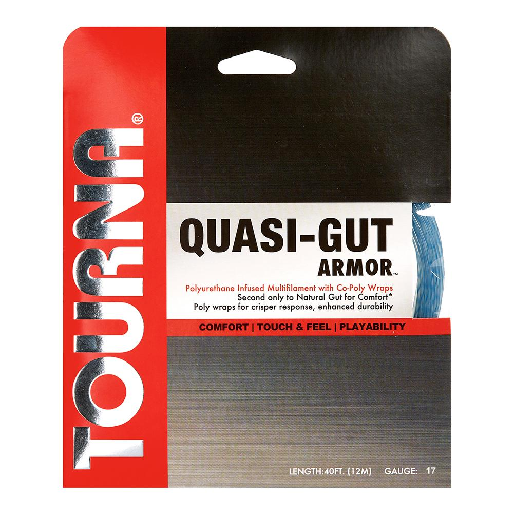 Quasi Gut Armour 17g Tennis String Blue